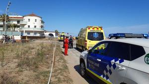 Explosió a la cuina d'un restaurant de Castelldefels