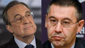 Florentino Pérez vs Josep Maria Bartomeu.