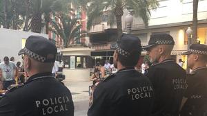 Fue detenido por la Policía Locales de Elche