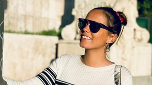 Gloria Camila sonriente