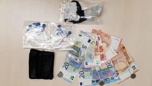 Heroïna i diners en efectius requisats pels Mossos d'Esquadra