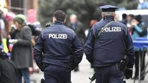 Imagen de archivo de agentes de la policía de Alemania