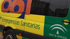 Imagen de archivo de una ambulancia de Andalucía