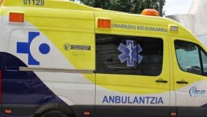 Imagen de archivo de una ambulancia del País Vasco