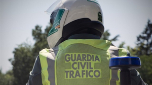 Imagen de la Guardia Civil de Tráfico