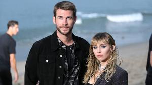 Imagen de Liam Hemsworth y Miley Cyrus
