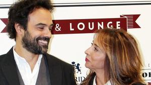 Imagen de María Patiño junto a su novio Ricardo Rodríguez.
