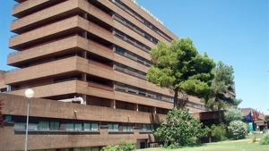 Imagen del Hospital General Universitario de Albacete donde se ha trasladado al niño