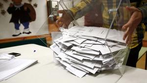 Imatge arxiu urna vots