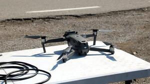Imatge d'arxiu d'un dron.