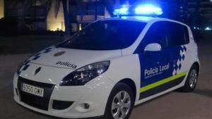 Imatge d'arxiu d'un vehicle de la Policia Local de Vila-seca.
