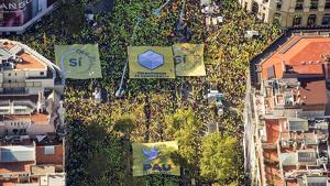 Imatge de la manifestació de l'any 2017