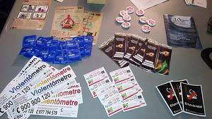 Imatge de l'estand informatiu que es col·locarà al festival Pròleg de Cambrils