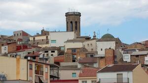 Imatge del poble de Batea