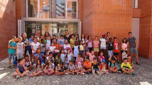 Imatge dels participants del «Conviu l'estiu» d'aquest any.