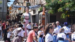 Imatges del seguici popular de Santa Coloma de Queralt
