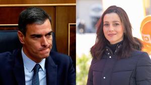 Inés Arrimadas vs Pedro Sánchez