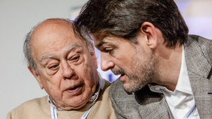 Jordi Pujol i Oriol Pujol.