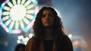 La actriz protagonista Zendaya en 'Euphoria'