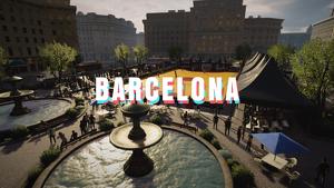 La ciudad condal será uno de los escenarios del videojuego