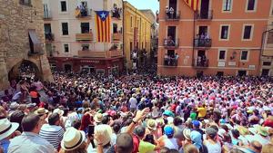 La diada de Sant Magí espera grans castells per part de les quatre de colles de Tarragona