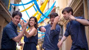 La formació catalana, Quartet Gerhad, ha actuat arreu d'Europa