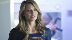 La protagonista Melissa Benoist en 'Supergirl'