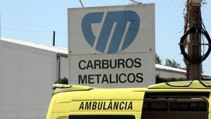 L'accident ha succeït a l'empresa Carburos Metalicos