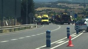 L'accident ha tingut lloc en el punt quilomètric 97 de la C-16, a l'altura de Berga