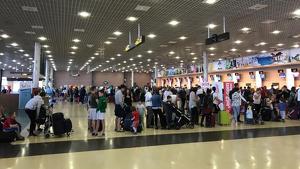L'Aeroport de Reus ple d'usuaris