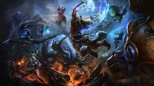 'League of Legends', uno de los videojuegos multijugador más famosos para PC.