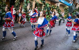 Les imatges de la cercavila de la Festa Major de l'Arboç 2018
