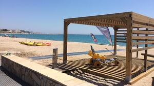 Les platges de Vandellòs i l'Hospitalet de l'Infant estrenen nous serveis i millores