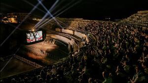 L'espectacle 'Amfiteatrvm' tornarà a omplir el coliseu tarragoní durant aquest mes d'agost.