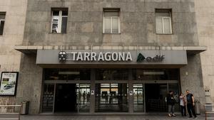 L'estació de trens de Tarragona