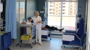 L'Hospital de Dia de Medicina Interna de l'hospital va ser reformat i ampliat l'any passat