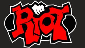 Logo de Riot Games, encargados de 'League of Legends'