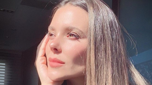 Lorena Gómez está muy triste por la pérdida de su perrita