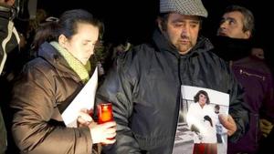Los padres de la víctima, que piden justicia