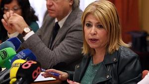 Mamen Sánchez ha pedido que no interactúe con la cuenta mientras este hackeada