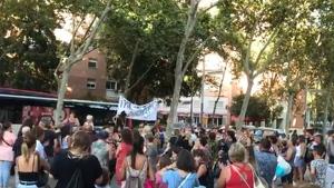 Manifestacio La Verneda