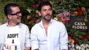 Manolo Caro (izda.) y Paco León (drcha.) en una entrevista