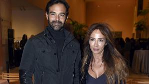 María junto a su  pareja Ricardo