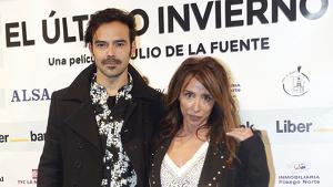 María Patiño junto a su pareja, el actor Ricardo Rodríguez