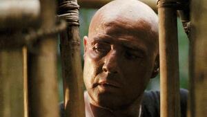 Marlon Brando como el desquiciado Coronel Kurt