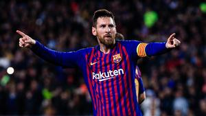 Messi es recupera de la lesió a Barcelona