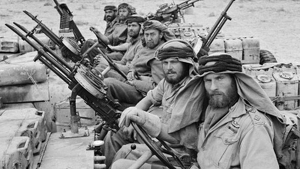 Miembros de las SAS durante la Segunda Guerra Mundial