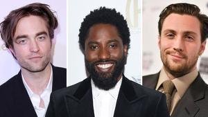 Pattinson, David Washington y Taylor-Johnson, actores en 'Tenet' (2020)