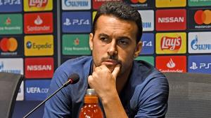 Pedro Rodríguez, en una roda de premsa