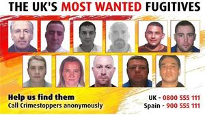 Pertenecen a una lista de 96 delicnuentes, de los cuales solo faltan ellos por capturar